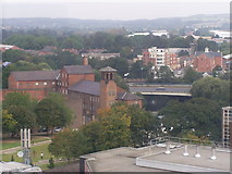 """SK3536 : Silk Mill Museum from Derby """"eye"""" by Phil Lawrence"""