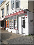 SU5806 : Estate agents in the High Street by Basher Eyre