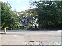 NN0858 : Disused slate quarry, Ballachulish by Stephen Sweeney