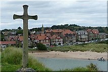 NU2410 : Old and new places of worship, Alnmouth by Graham Horn