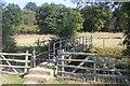 TQ6935 : Footbridge near Kilndown Wood by David Anstiss