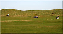 NU0545 : Berwick-upon-Tweed (Goswick) Golf Course by Walter Baxter