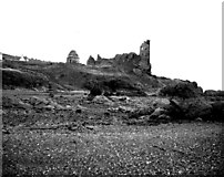 NS2515 : Dunure Castle by Dr Neil Clifton