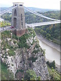ST5673 : Clifton Suspension Bridge, Eastern End by Ivan Hall
