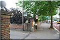 TQ5841 : Entrance to the Masonic Hall, St John's Rd by N Chadwick