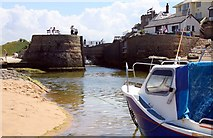 SS2006 : The lock to the Bude Canal by Steve Daniels