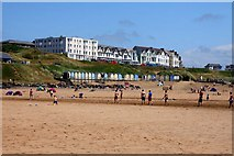 SS2006 : Beach Huts by Summerleaze Beach by Steve Daniels