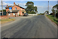 TA0246 : Station Farm and the Level Crossing by Peter Church