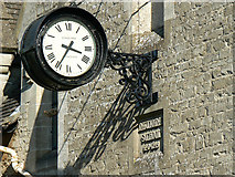 SO9700 : Clock, The Old School, Coates by Brian Robert Marshall
