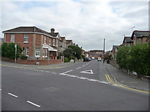 SZ0893 : Bournemouth : Winton - Maple Road Junction by Lewis Clarke