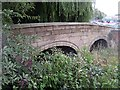 SE3320 : Packhorse Bridge, Kirkgate (1) by Mike Kirby
