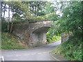 NY7287 : Old railway bridge, Falstone by Les Hull