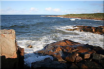 NJ1570 : Bay to the east of Daisy Rock by Des Colhoun