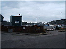 NM8529 : Entrance to Ferry Terminal, Oban by Peter Barr