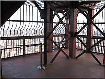 SD3036 : Viewing Platform, Blackpool Tower by Gerald Massey