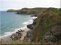 SW9579 : Port Quin Bay by Philip Halling