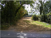 TG0524 : Field Entrance off Reepham Road by Geographer