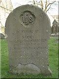 ST8992 : Sarah Cox gravestone at St Mary's Tetbury. by Paul Best
