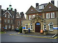 TQ0791 : Main Entrance to Mount Vernon Hospital by Graham Hale