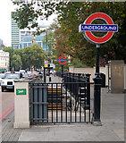 TQ2882 : Regents Park underground station by Andy F