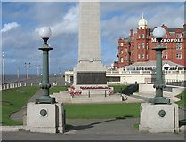 SD3036 : Blackpool War Memorial by Gerald Massey