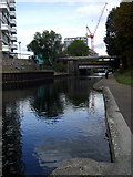 TQ3681 : The Regent's Canal  in Limehouse by ceridwen
