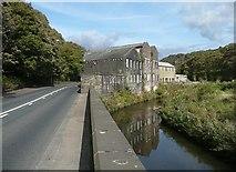SD9726 : Callis Mill, Hebden Bridge by Humphrey Bolton