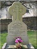 ST8992 : Tuck family gravestone St Mary's Tetbury. by Paul Best