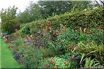 TQ2882 : Flower bed in Avenue Gardens, Regents Park by Andy F