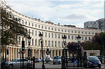 TQ2882 : The east curve of Park Crescent, London by Andy F