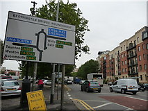 ST5871 : Bristol : Bedminster Parade & Road Sign by Lewis Clarke