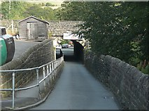 SE0125 : Thrush Hill Road Bridge, Mytholmroyd by Humphrey Bolton