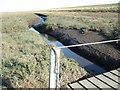 "TF5326 : Crossing the ""creeky"" bridge in The Wash by Richard Humphrey"