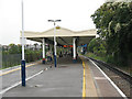 TQ1975 : North Sheen station: platforms by Stephen Craven