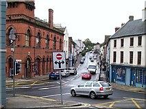 J4844 : Irish Street from English Street, Downpatrick by Eric Jones