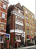 TQ2881 : Former dispensary in Chiltern Street, W1 by Mike Quinn