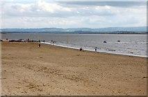ST3049 : The beach at Burnham-On-Sea by Steve Daniels
