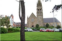 J4844 : The Mercy Convent and St Patrick's RC Church from St Patrick's Ave. by Eric Jones