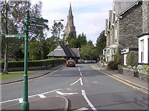 NY3704 : Compston Road, Ambleside by Kenneth  Allen