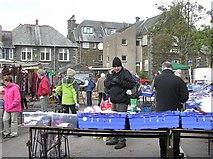 NY3704 : Open-air Market, Ambleside by Kenneth  Allen