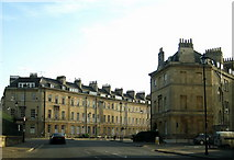ST7565 : The eastern end of Great Pulteney Street by Sarah Smith