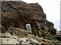 NZ4153 : Arch near Ryehope Nook by Andrew Curtis