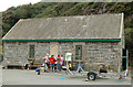 SM8024 : Former lifeboat station on Trinity Quay, Solva by Andy F