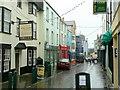 SH4762 : Palace Street, Caernarfon by Jonathan Billinger