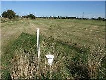 SK8166 : Sampling well on edge of Smithy Marsh by Tim Heaton