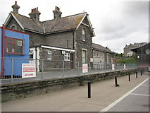 SW9274 : Former railway station - Padstow by Philip Halling
