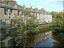 SD9726 : Woodland View, Charlestown, Hebden Bridge by Humphrey Bolton