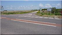 SW7320 : Traboe Cross cross roads. by Mike Dodman