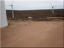 NH6181 : Beginning of new road to new wind turbines by Sarah McGuire