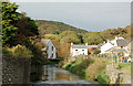 SM8024 : Looking north (upstream) along the River Solva by Andy F